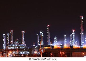 producto petroquímico, aceite, refinería,...
