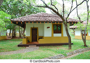 The villa at luxury hotel, Bentota, Sri Lanka