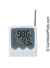 Heat Wave - Thermostat - Thermostat Showing Extreme Heat And...