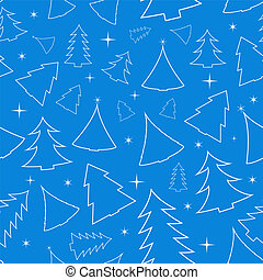 Seamless background with Christmas
