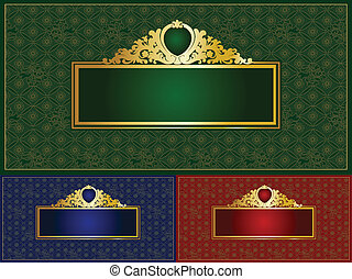 Elegant banner