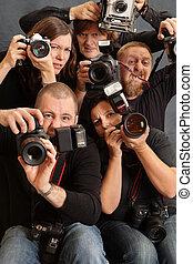 loucos, fotógrafos
