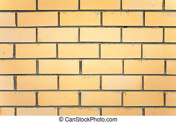 yellow brick wall texture