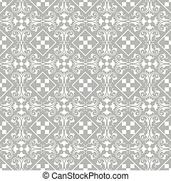 seamless classic floral pattern