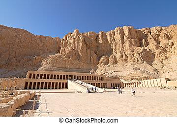 Temple of Queen Hatshepsut - Temple between the Valley of...