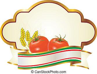 野菜, フルーツ, ラベル
