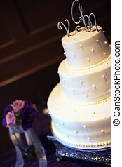 Wedding Cake - A beautiful wedding cake