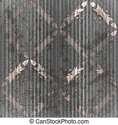 vector seamless grungy vintage pattern