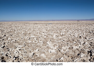 Salar de Atacama - Views of Salar de Atacama, the largest...