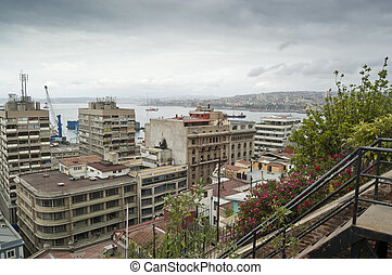Views of Valparaiso - Valparaiso is a city and commune of...