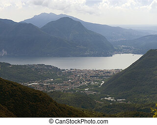 overview of Intra Verbania - Overview of town Intra Verbania...