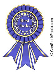 Blue Ribbon Award labeled the best choice