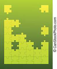 Puzzle Home vector