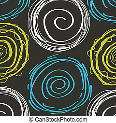 Spiral vector background