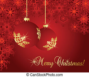 Merry Christmas abstract background for poster