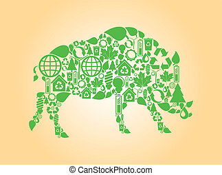 Wild boar green