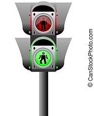 pedestrian light
