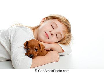 rubio, niño, niña, sueño, mini,...