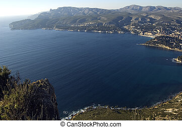 Bay of Cassis, French riviera