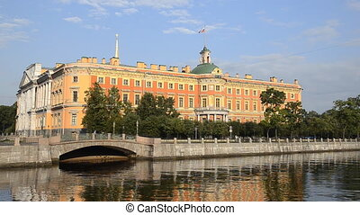 The Mikhailovsky Palace in St Petersburg, Russia