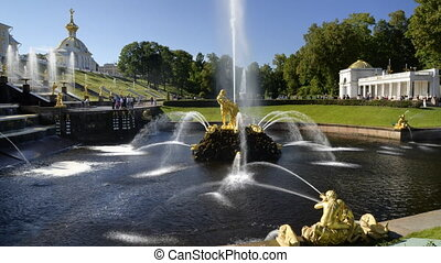 Peterhof - Sampson - St. Petersburg, Russia