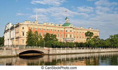 The Mikhailovsky Palace in St. Petersburg, Russia