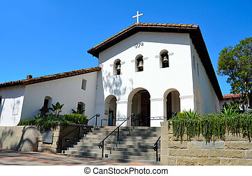 Mission San Luis Obispo de Tolosa - Old catholic mission in...