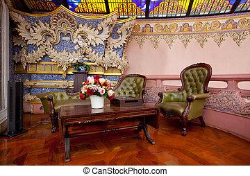 erawan museum - furniture. An interior of erawan museum