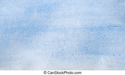 watercolor blue abstract background