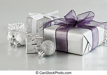 Christmas Gifts in Silver - A selection of Christmas gifts...