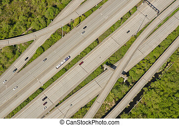 Weaving Highway On-Ramps and Off-Ramps