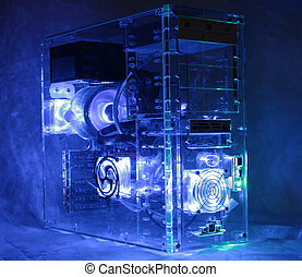 Desktop computer - Custom built desktop computer