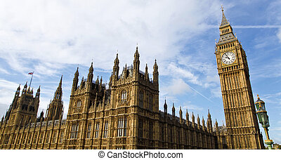 Houses of Parliament - The Palace of Westminster, also known...