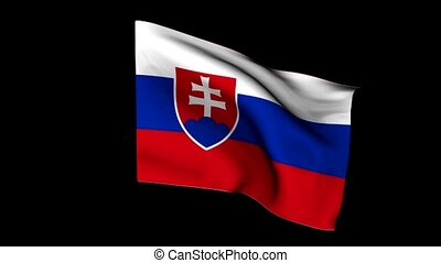 European flag slovenia
