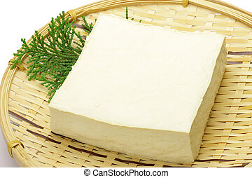 tofu - This is called tofu by Japanese food