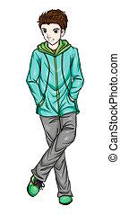 Anime Fashion Boy