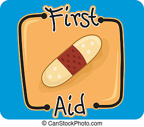First Aid - Icon Illustration Representing First Aid