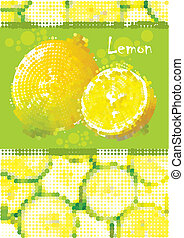 Fresh lemon menu