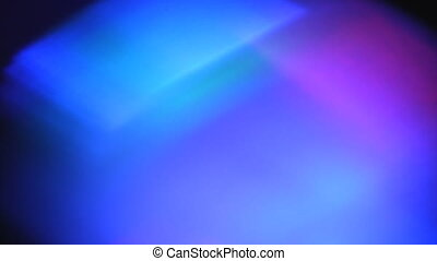 Disco Light effect Soft focus - Closeup of soft defocused...