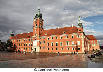 Warsaw Castle - Warsaw, Poland Old Town - famous Royal...