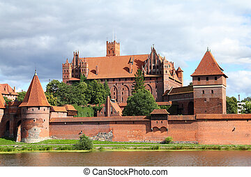 Malbork castle in Pomerania region of Poland UNESCO World...