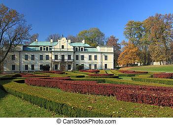slott, Polen