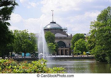 Wiesbaden, Germany - Wiesbaden is a city in southwest...