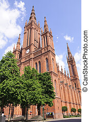Marktkirche in Wiesbaden, Germany - The Marktkirche that has...