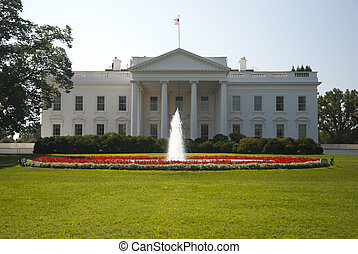 The White House in Washington DC, the North Gate