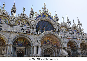 St Mark's Basilica in Venice, Italy - St Mark's Basilica is...
