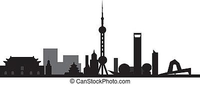 peking Beijing skyline
