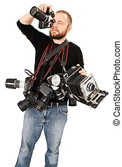 Photography enthusiast - Photo of a man in his late...