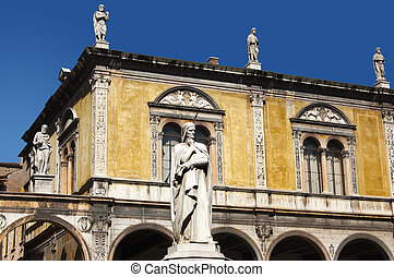 Dante square of Verone - Piazza Dan - Photo of Dante square...