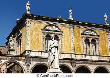 Dante square of Verone - Piazza Dan - Photo of Dante square...